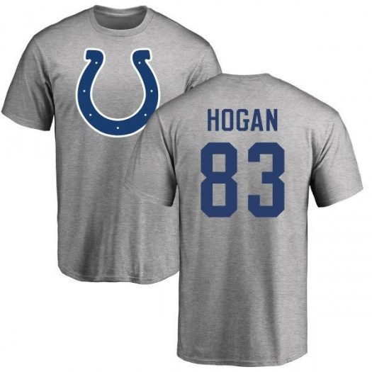 Krishawn Hogan Indianapolis Colts Men's Name & Number Logo T-Shirt - Ash
